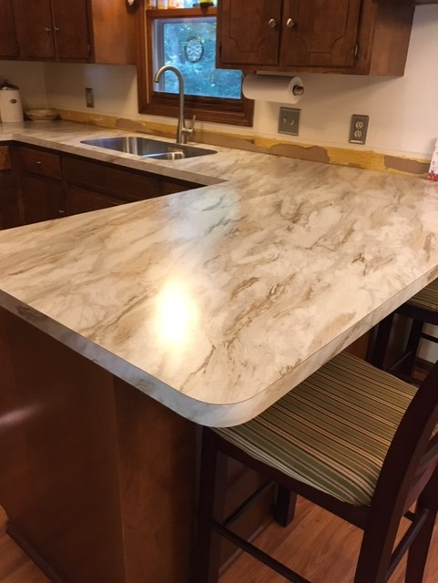 Flawless Install of Formica | Degraaf Interiors