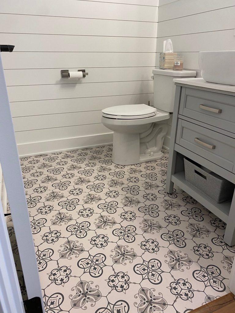 Stylish tile install | Degraaf Interiors