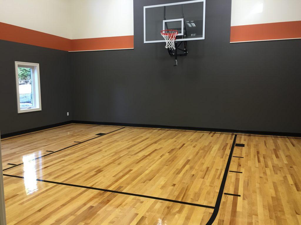Indoor Basketball Court Flooring | Degraaf Interiors