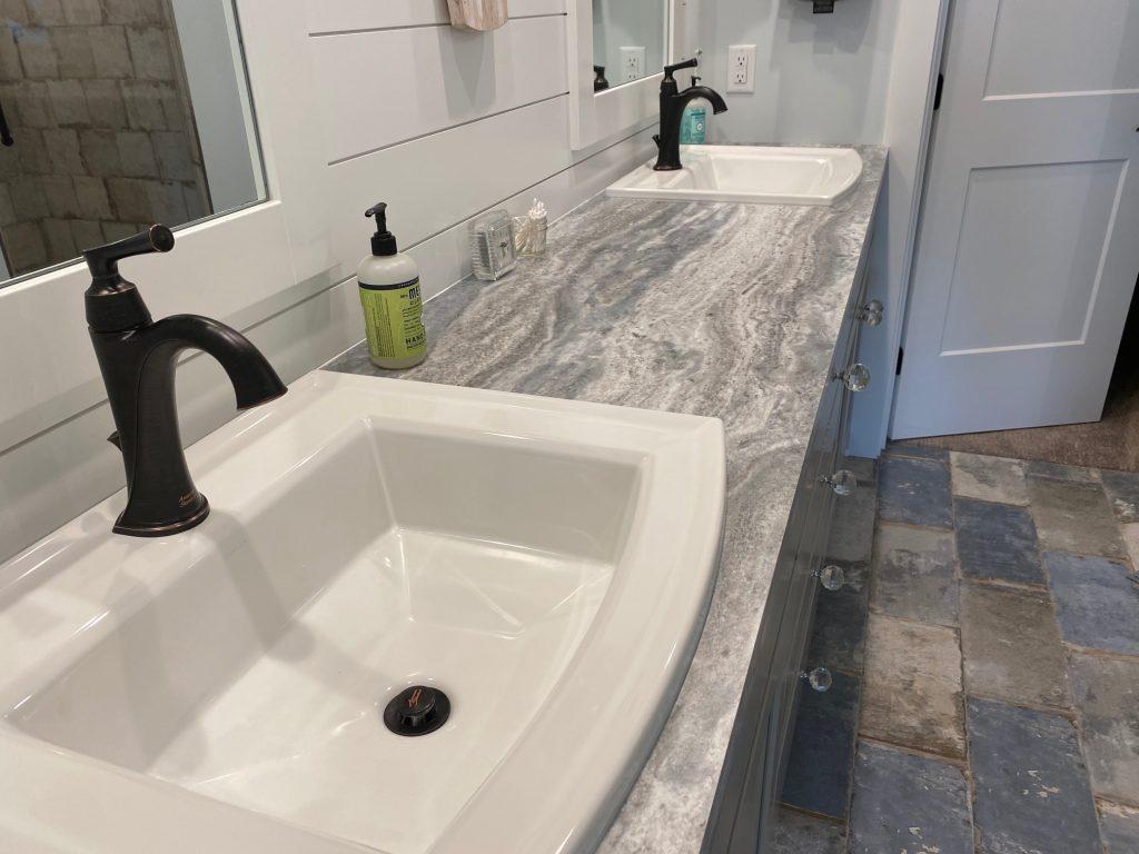 Beautifully installed double-vanity | Degraaf Interiors