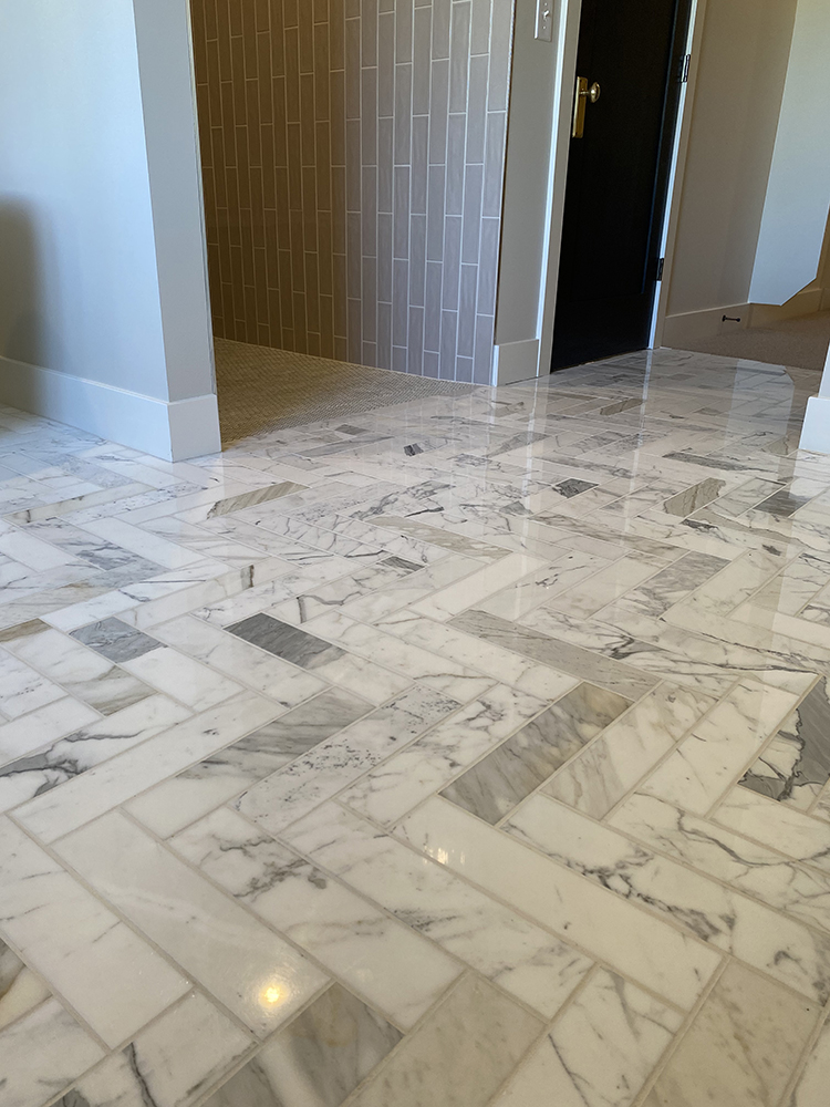Marble looking Tile