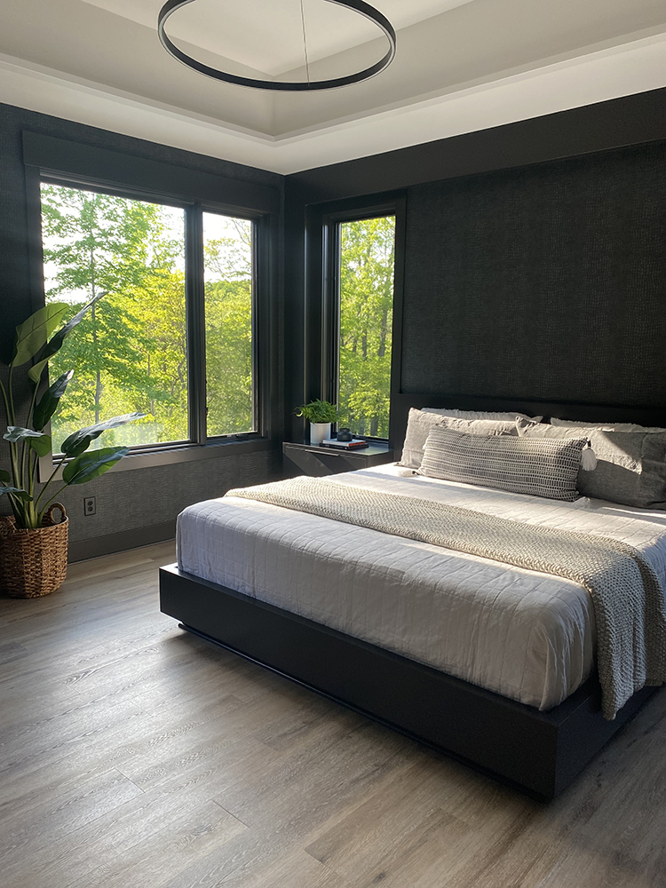 Nature is Calling from this Bedroom | Degraaf Interiors
