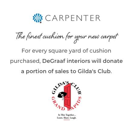 Carpenter Cushion | Degraaf Interiors