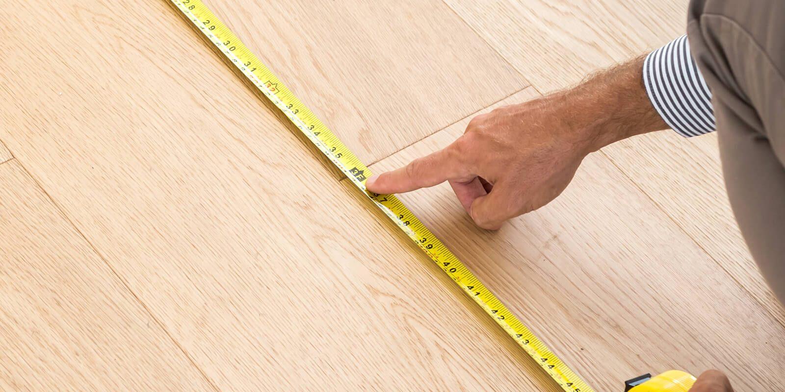 Floor measurement | Degraaf Interiors